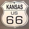 8 State Shield Set - Kansas US 66