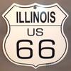 8 State Shield Set - Illinois US 66