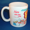 Route 66 Coffee Mug made in the USA SIDE