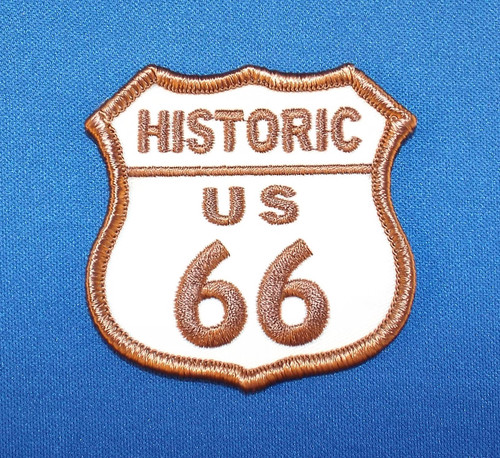 Historic Route 66 Patch