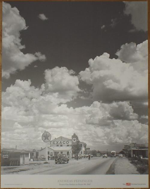 "Andreas Feininger's LIFE Magazine ""Route 66"" Poster"