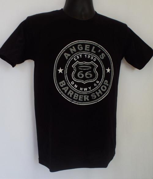 Angel's Barber Shop T-Shirt Black