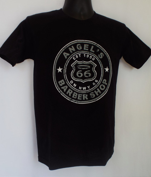 Angel's Barber Shop T-Shirt Black