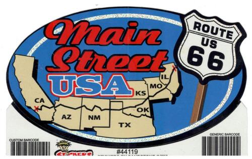 Main Street USA Sticker