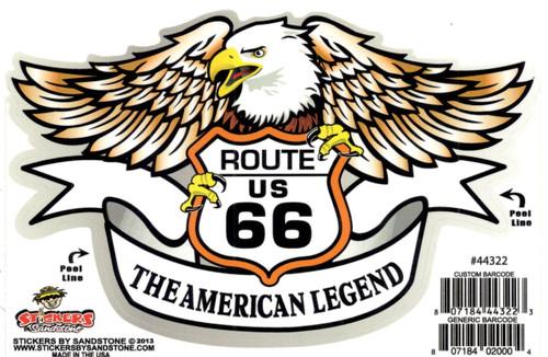 American Legend Eagle Sticker