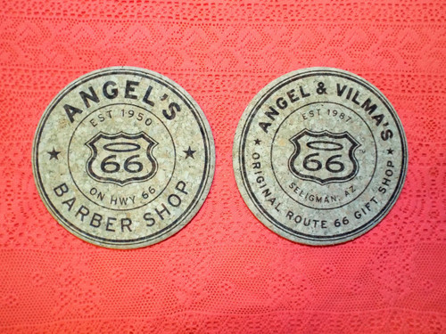Angel's Route 66 Coaster Set