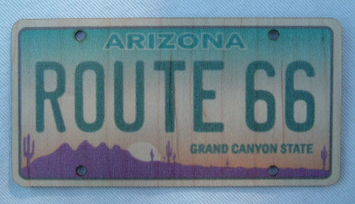 Arizona Route 66 Wood Sticker