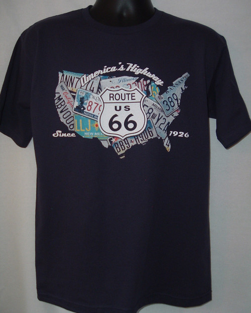 Nation Route 66 T-shirt