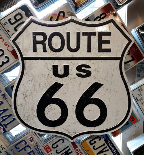 Big Route 66 Shield