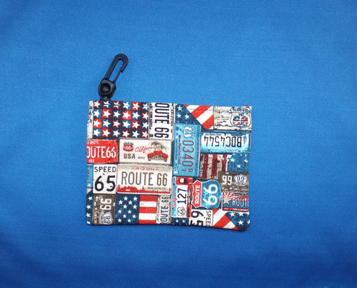 Mini Route 66 Keeper Purse
