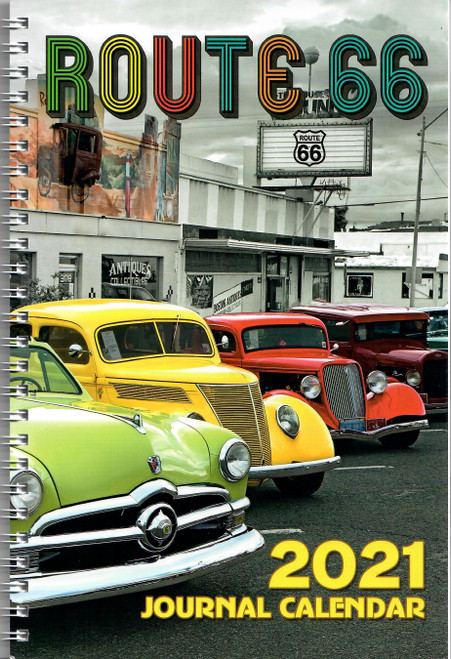2021 Route 66 Journal Calendar - Front