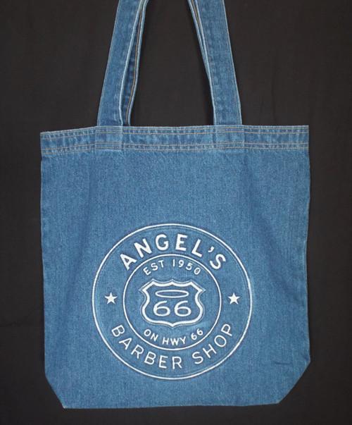 Denim Angel's Barber Shop Tote Bag