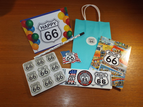 66th Birthday Gift Bag A