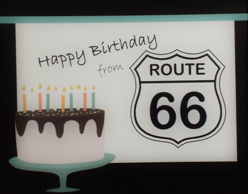 Happy Birthday from Route 66
