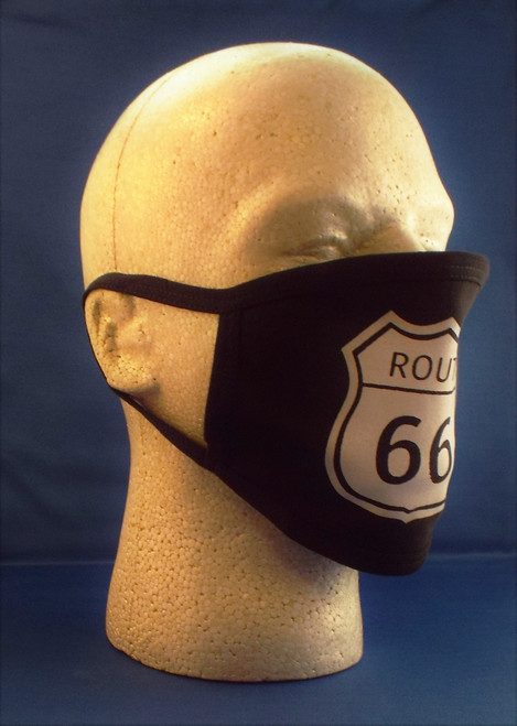 Route 66 Shield Face Mask