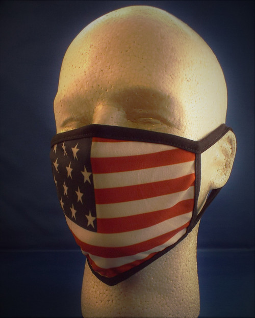 US Flag Face Mask made in the USA