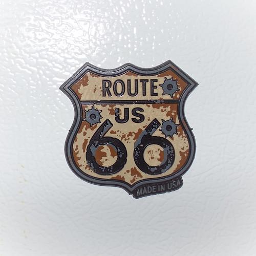 Route US 66 Rubber Bullet Magnet