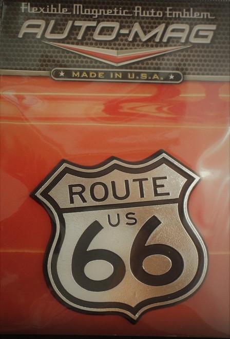 Route 66 Auto Magnet