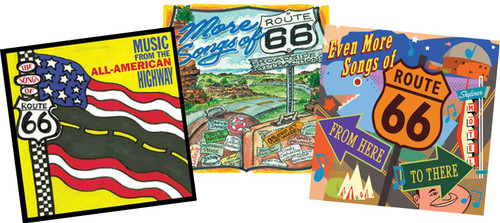The Songs of Route 66: 3 CD Set