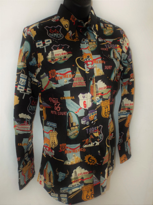 Ladies' Route 66 Western Shirt