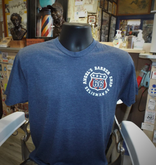 Route 66 Lyrics T-Shirt LIMITED EDITION: Angel's Barber Shop
