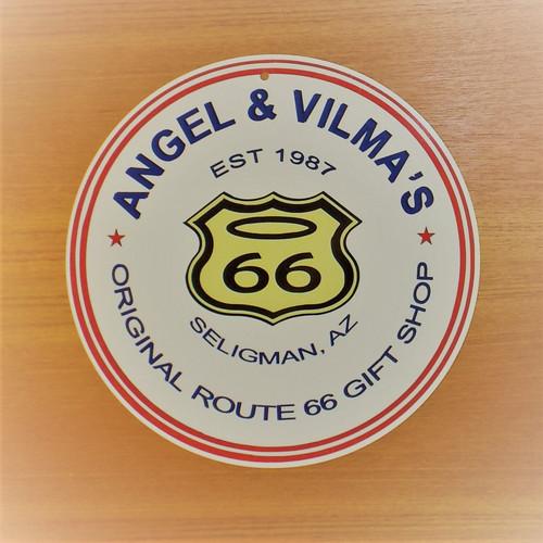 Angel & Vilma Gift Shop Sign
