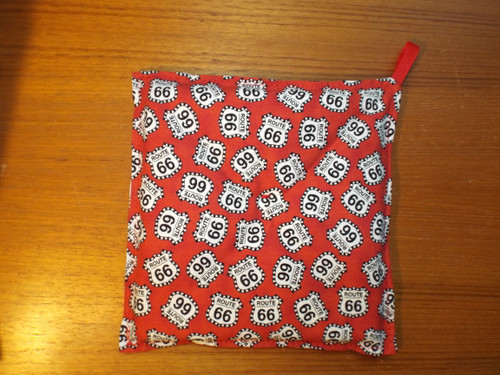 Red Route 66 Hot Pad