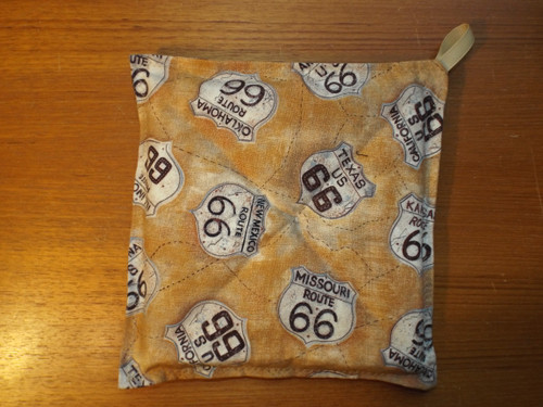 Rustic Route 66 Hot Pad
