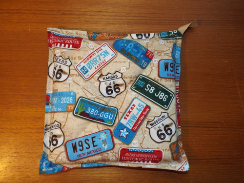 Route 66 Plates and Shields Hot Pad