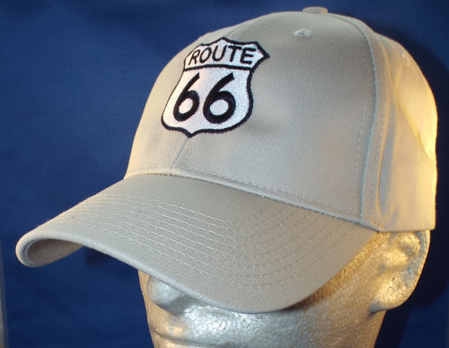 TAN Route 66 Shield Cap