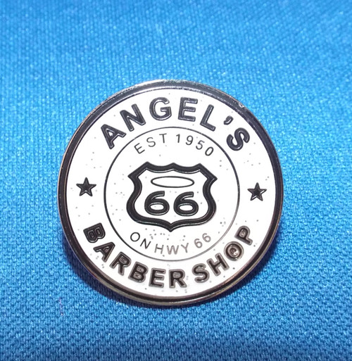 Angel's Barber Shop pin
