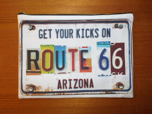 Arizona 66 Zipper Bag
