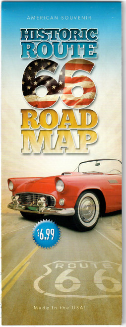 Route 66 Road Map
