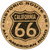 California Route 66 Cork Coaster