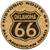 Oklahoma Route 66 Cork Coaster