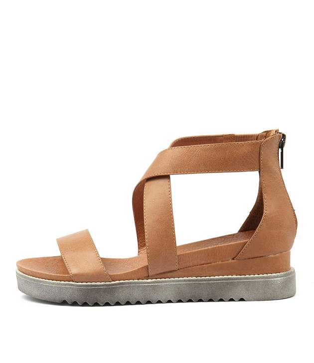 AFREDAS Sandals Tan Leather