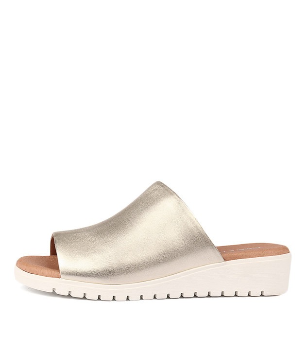 MERRIES Pale Gold Leather
