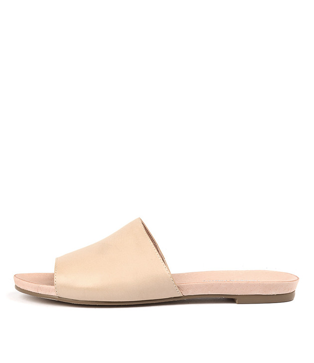 JALLAS Sandals in Nude Leather