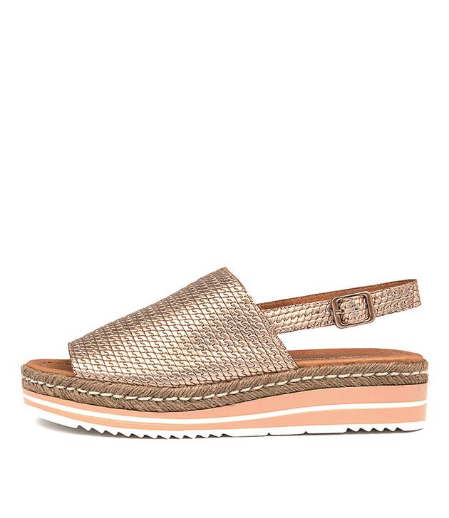 ADIDAH Sandals Flatform Sandals Rose Gold