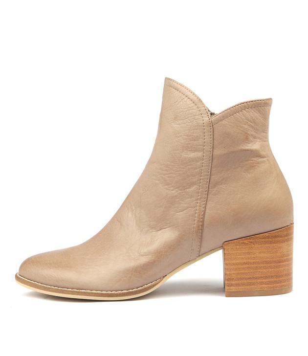 MOCKAS Boots Smoke Leather