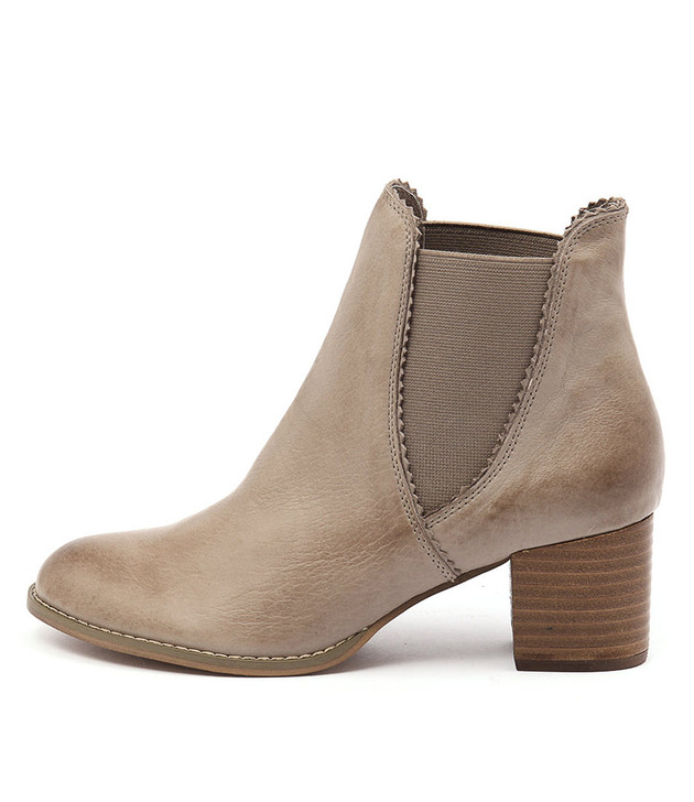 SADORE Boots Taupe Leather