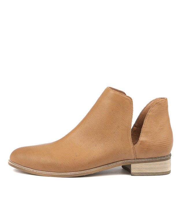 IDIOS Boots Dark Tan Leather