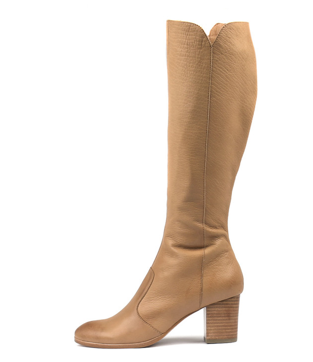 DELIVER Boots Tan Leather