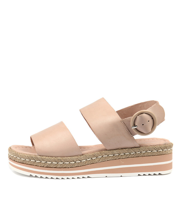 ATHA Sandals Nude Leather