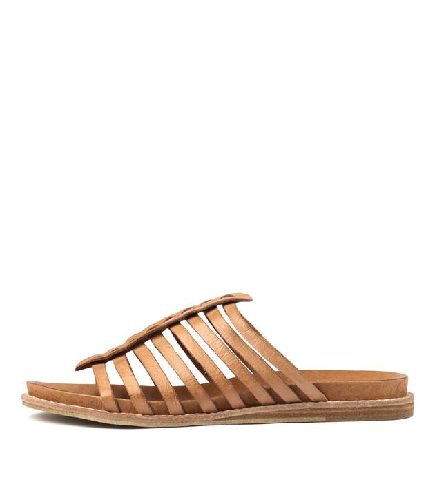 HILLARD Sandals in Tan Leather