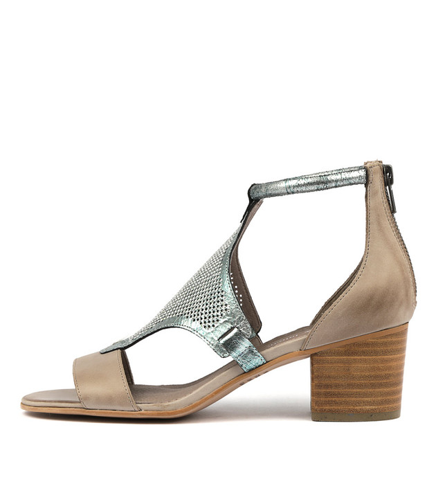 MAREN Heels Sandals Misty Leather