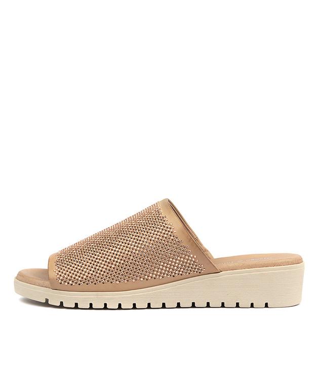 MALE Sandals Flesh Leather