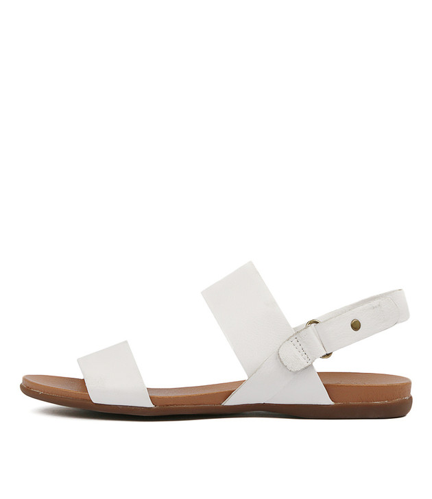 BRIDE Sandals White Leather