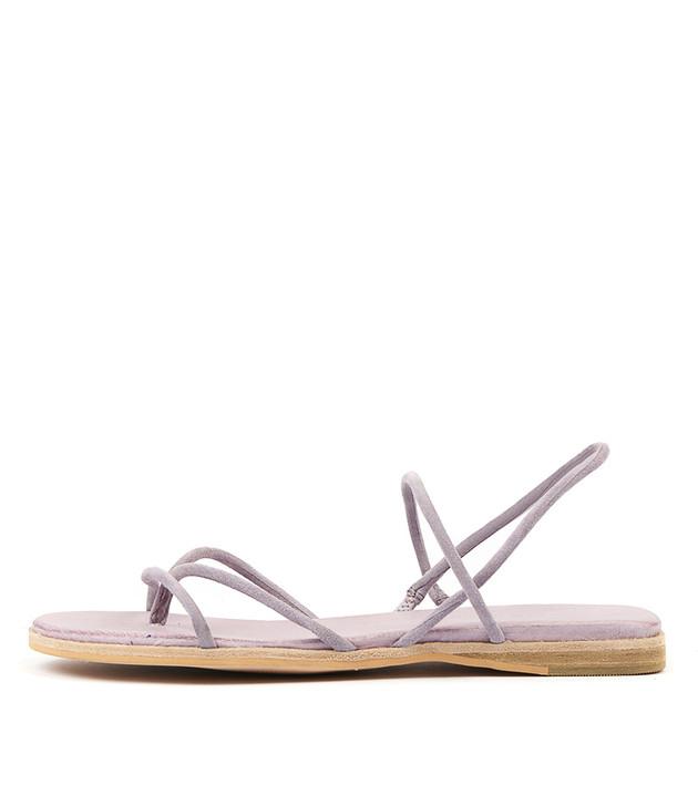 TENJI Sandals Lilac Suede
