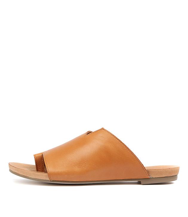 JULE Sandals in Tan Leather